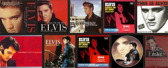 Elvis Presley covers of Always on My Mind