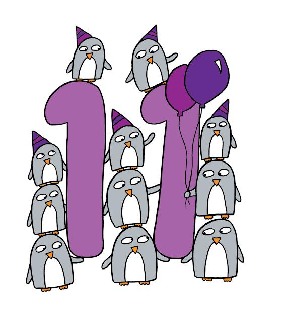 Number 11 Number penguins: 11 - 21
