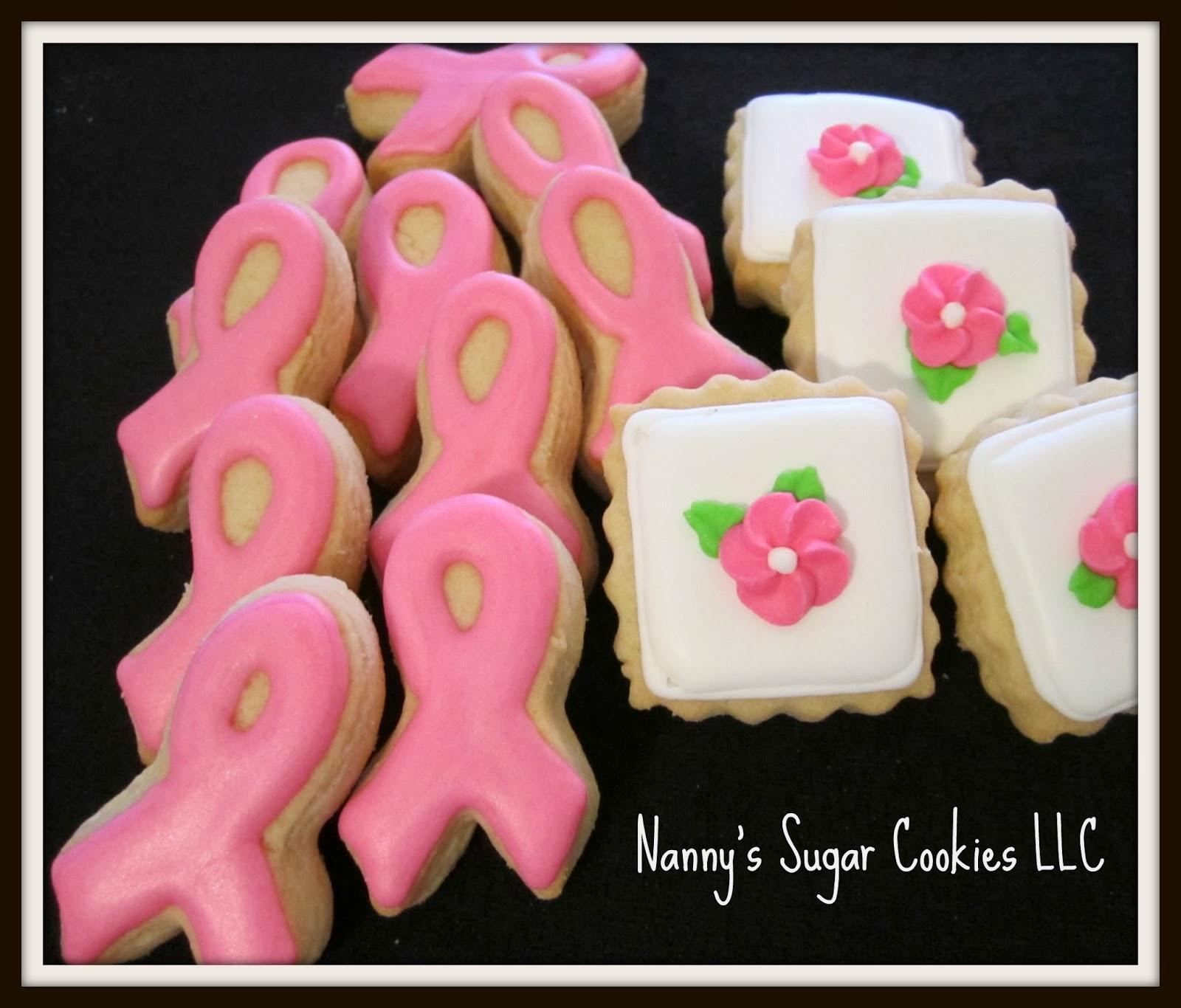 Nanny's Sugar Cookies LLC: October is National Breast ...