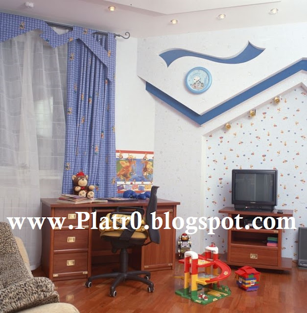 Platre Maroc 2016 : Decoration platre de chambre enfants décoration