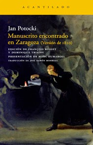 Manuscrito encontrado en Zaragoza, de Jan Potocki.