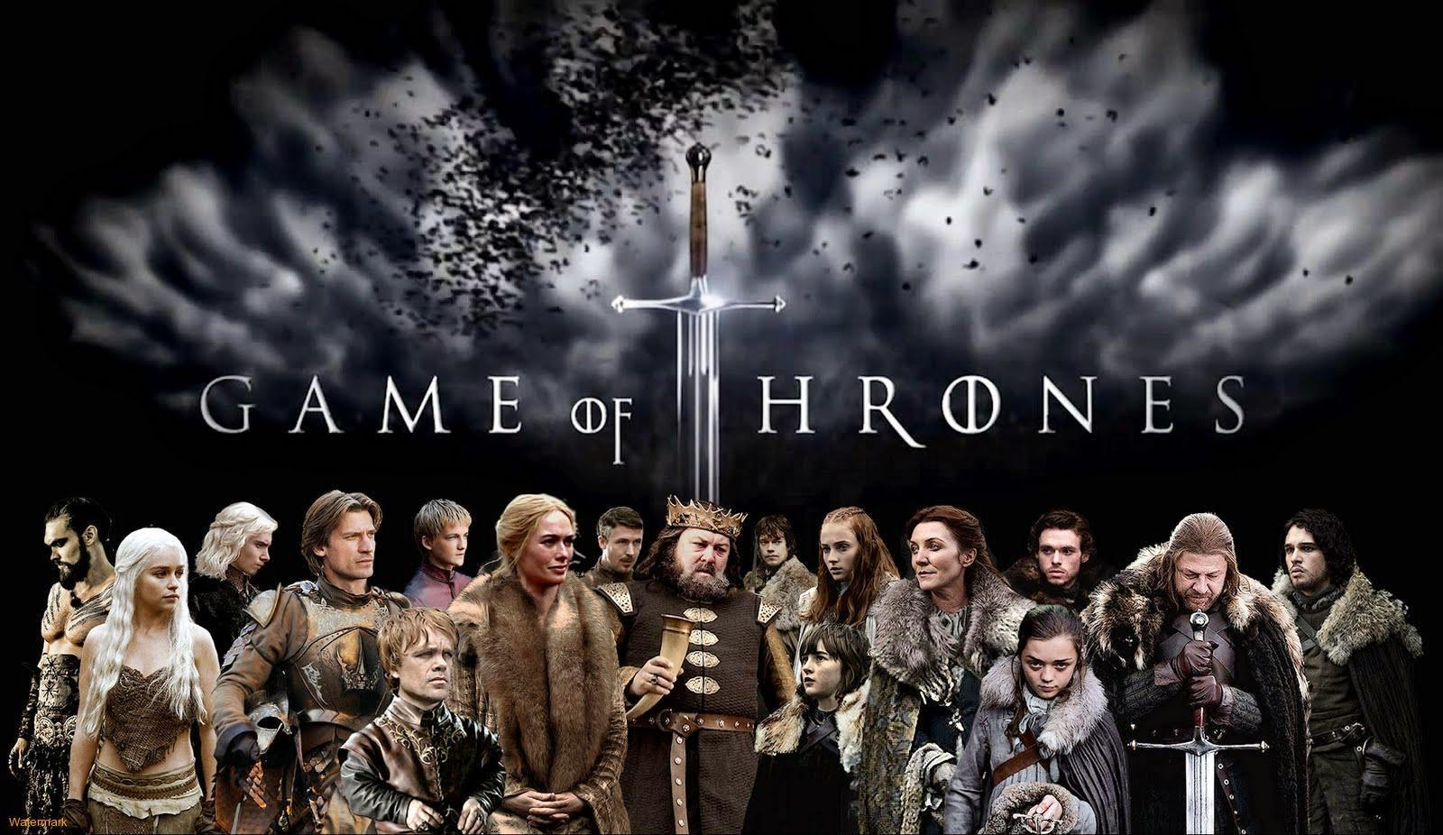 Game of Thrones Kaleesi serie stark lanister