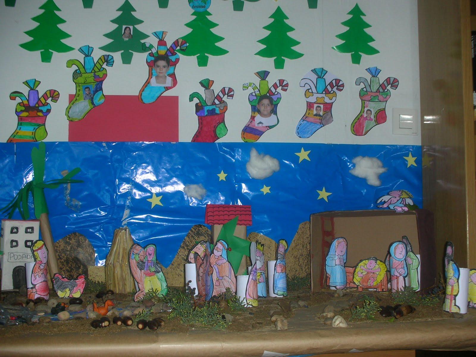 Biblioteca de obando nuestro original bel n y nuestro - Ideas decoracion navidad colegio ...