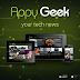 Mejor Lector de Noticias Tecnologicas para Android, Appy Geek