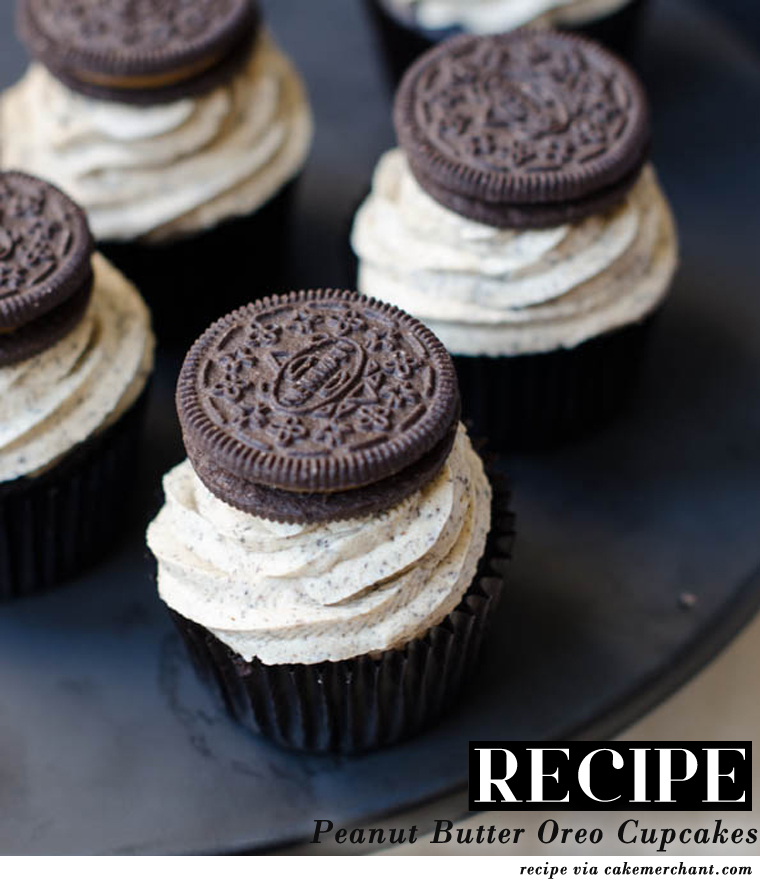 Market HQ Blog: RECIPE: Peanut Butter Oreo Cupcakes