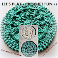 free crochet patterns spring makeup remover pads