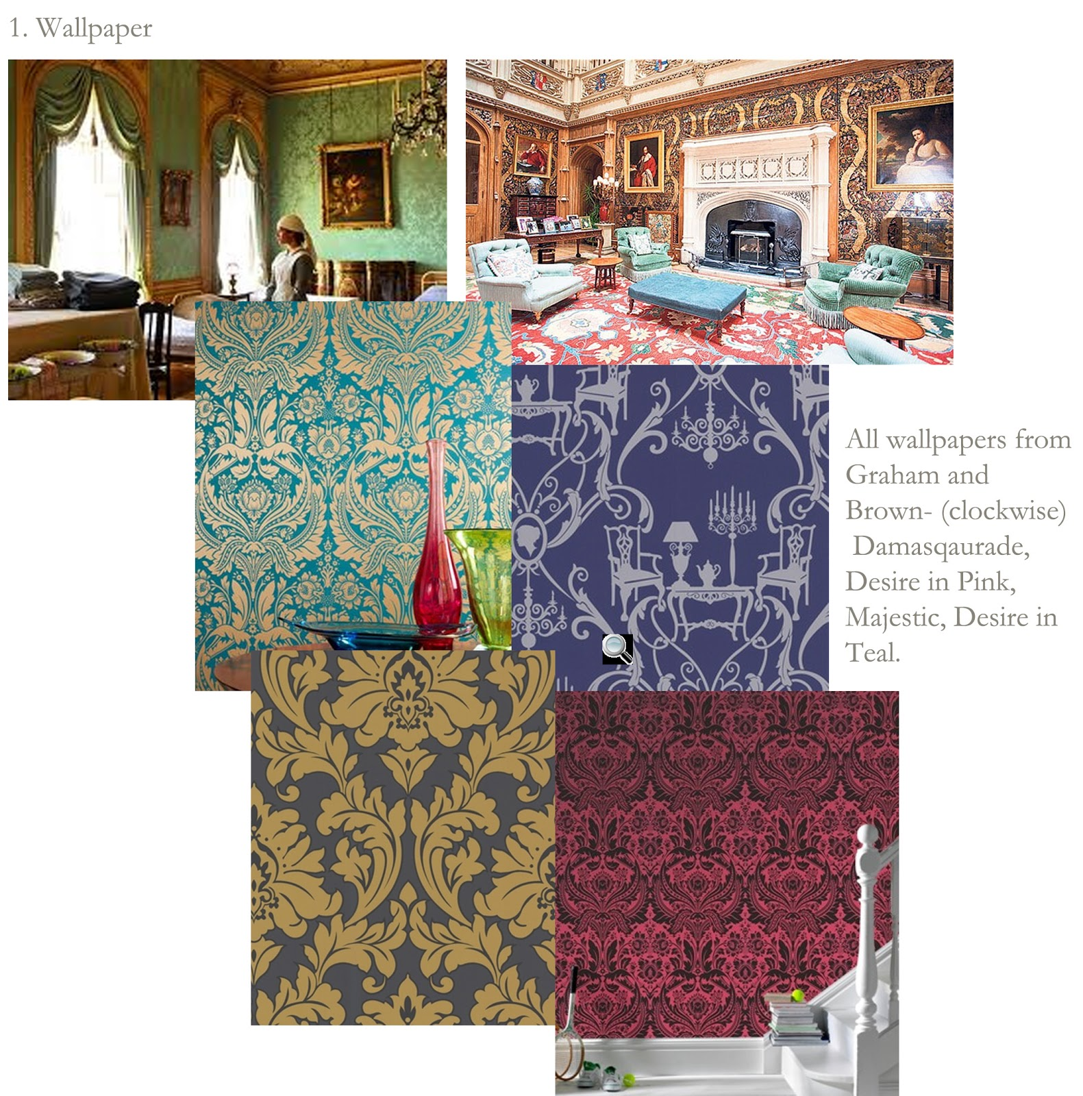 Graham And Brown Damask Wallpapers Found Here