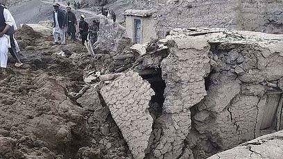 Tanah Runtuh Di Afghanistan