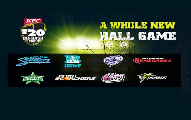 KFC Big Bash T20 League Live streaming 2015-16