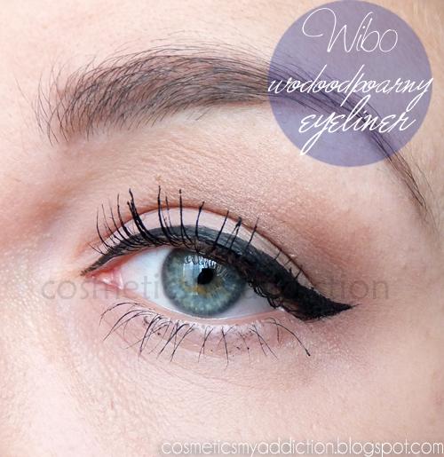 Wibo, wodoodporny eyeliner, czyli tanie nie znaczy gorsze