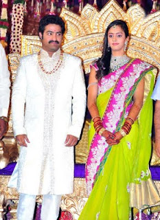 jr ntr lakshmi pranathi photos, jr ntr lakshmi pranathi marriage stills, lakshmi pranathi jr ntr photos