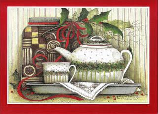 Relevant Tea Leaf 2013 Tea Themed Christmas Cards