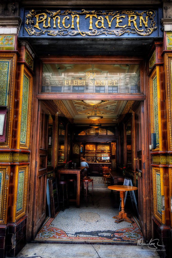 Alistair Cunningham, fotografía HDR, Punch Tavern, Londres