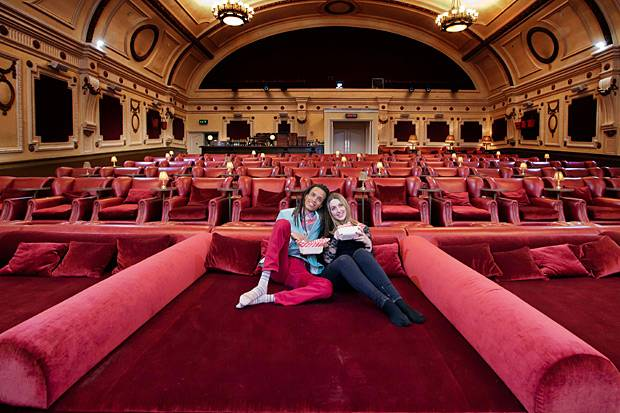 Amazing movie theatres