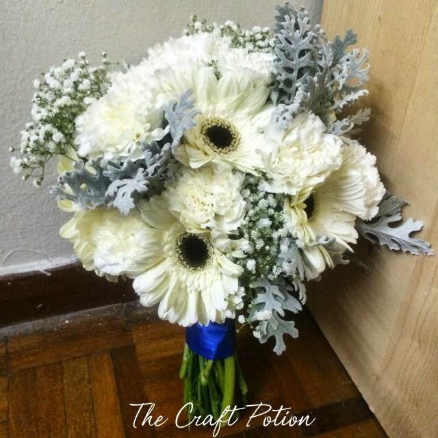 The Craft Potion: Handbouquet Fresh Flowers!