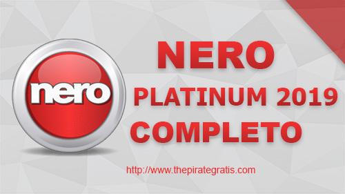 Baixar Nero Platinum 2019 Completo + Crack via Torrent