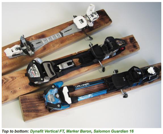 MFD ALLTIME SKI TOURING BINDINGS SINGLE SMALL BINDING PARTS FOR ATOMIC /& SALOMON