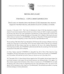 El TAS rechazó la apelación de Boca para NO jugar
