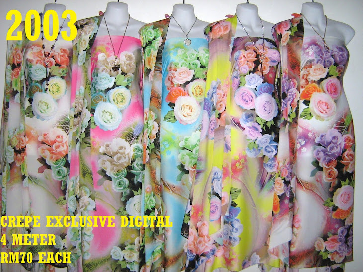CP 2003: CREPE EXCLUSIVE DIGITAL PRINTED, 4 METER