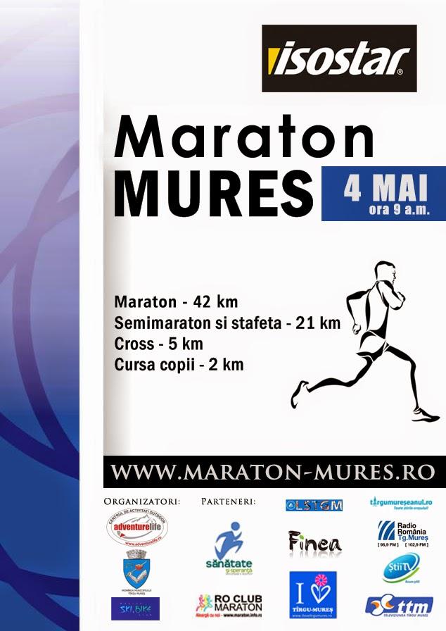 Invitatie la Maraton Mures 2014