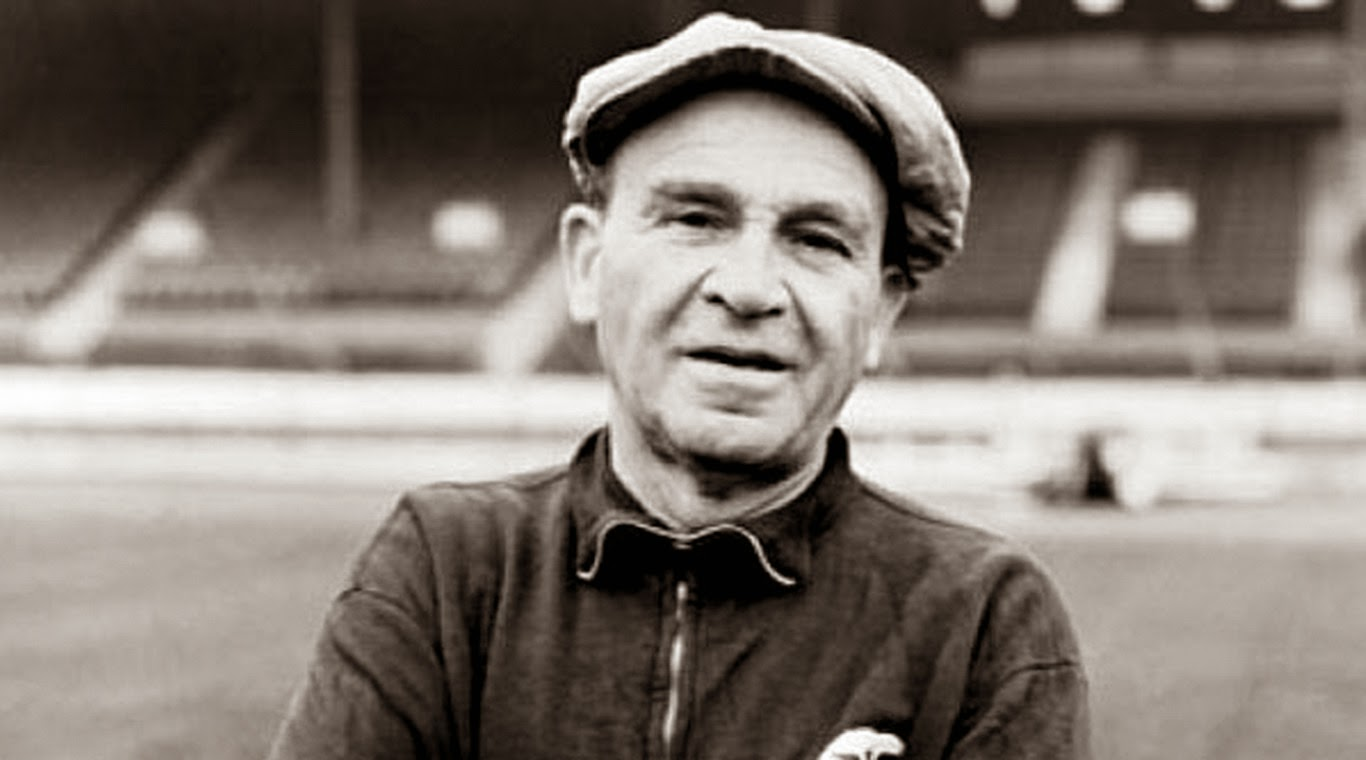 Béla Guttmann en su etapa como entrenador