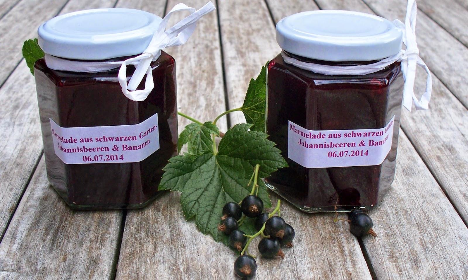 Seifenlieberostet Nicht Schwarze Johannisbeer Marmelade Mit