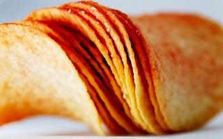 Resep membuat makanan ringan Keripik Kentang Keju