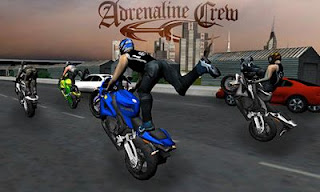 Screenshots of the Adrenaline Crew: Race Stunt Fight for Android tablet, phone.