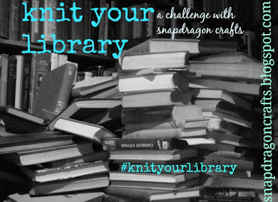 Grab button for knit your library challenge