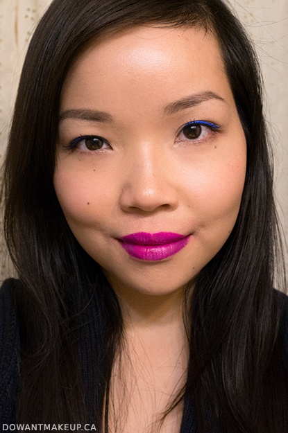 Revlon Colorstay Skinny Liquid Liners: Electric Blue & Black Out swatches and review