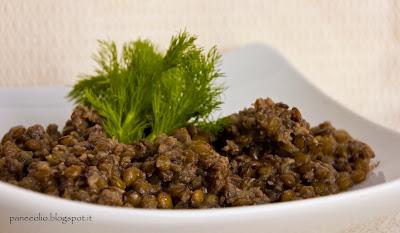 lenticchia e salsicce bimby