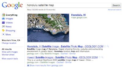 Satelittenkarte