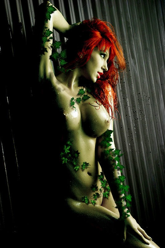 photo de cosplay de poison ivy nue