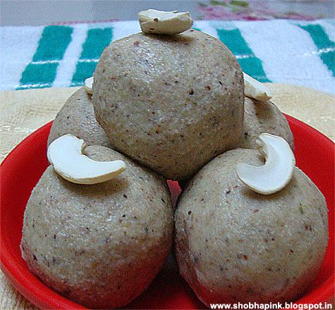 Dink & Dry Fruits Laddu