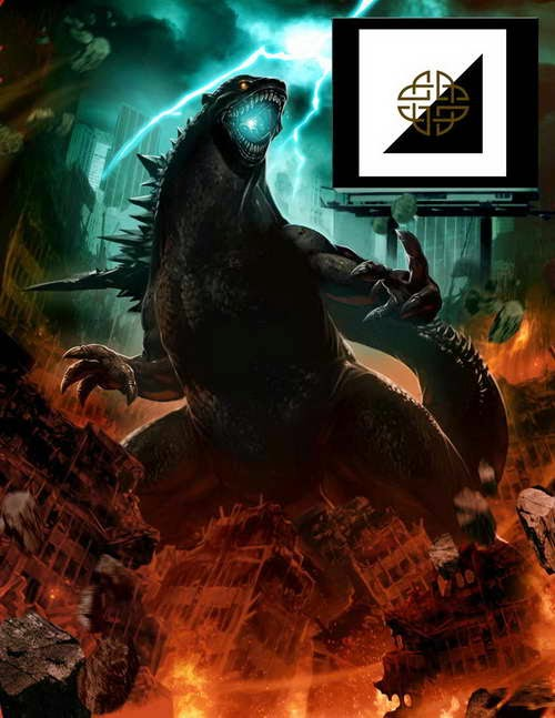 Comic-Con Godzilla promo poster from Legendary