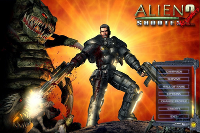 Free download games Alien Shooter 2 Reloaded 2014