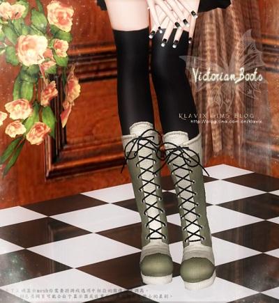 Victorian Boots by Klavix  71be8a2dgb9b6d156fd14&690