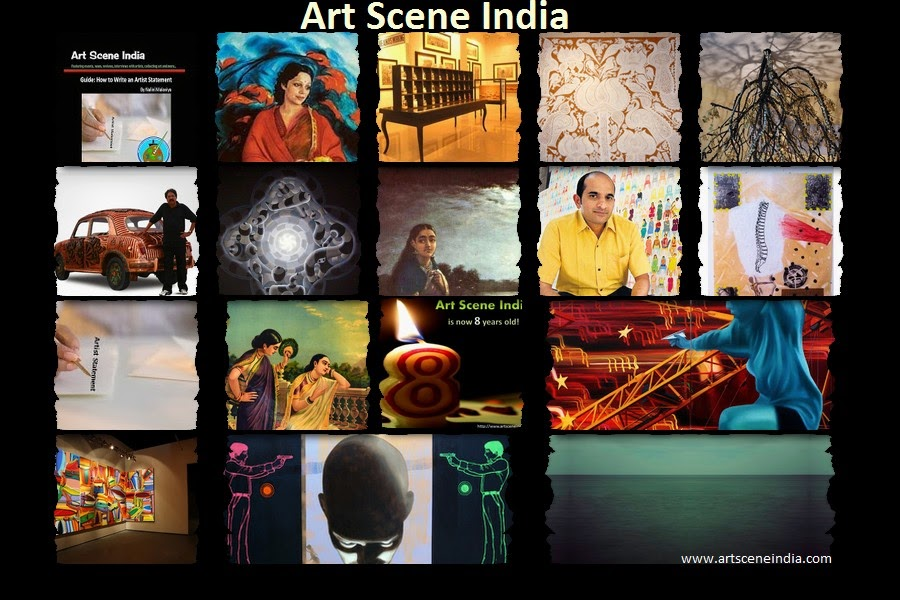 Art Scene India 8th Anniversary collage