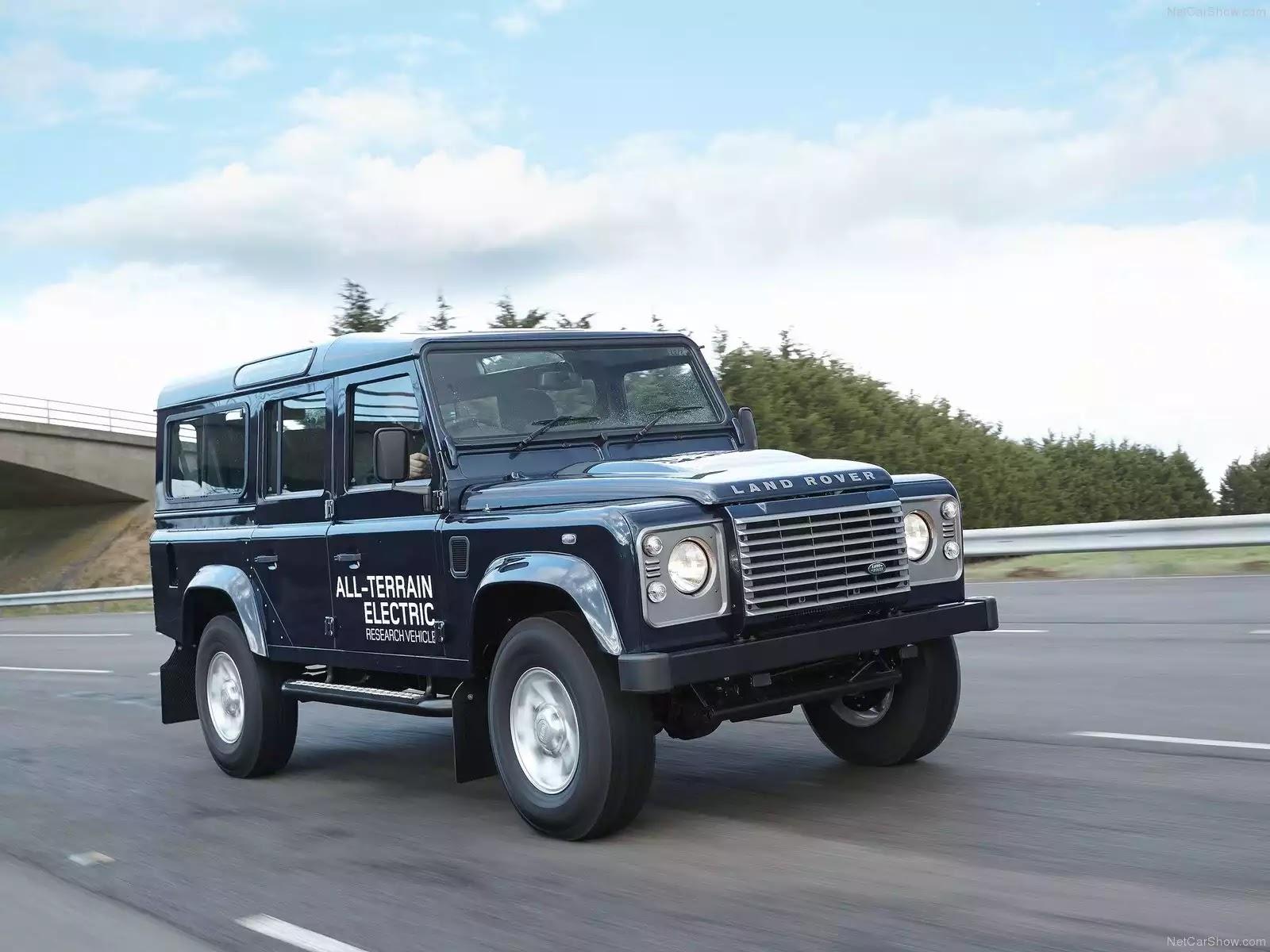 Hình ảnh xe ô tô Land Rover Defender Electric Concept 2013 & nội ngoại thất