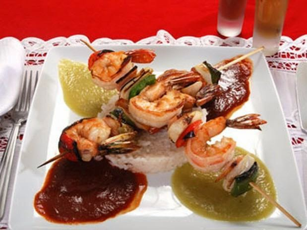 Comida gourmet mexicana