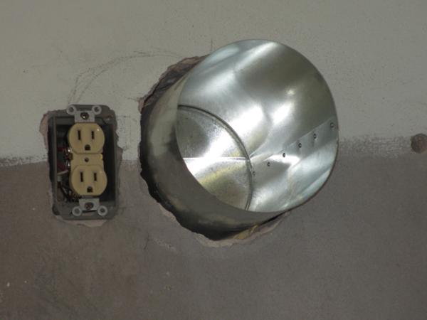 kitchen remodel range hood vent electric