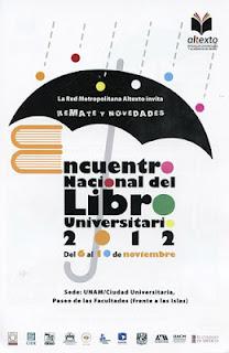 Encuentro Nacional del Libro Universitario 2012