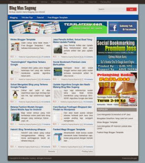 Template Super SEO By Mas Sugeng
