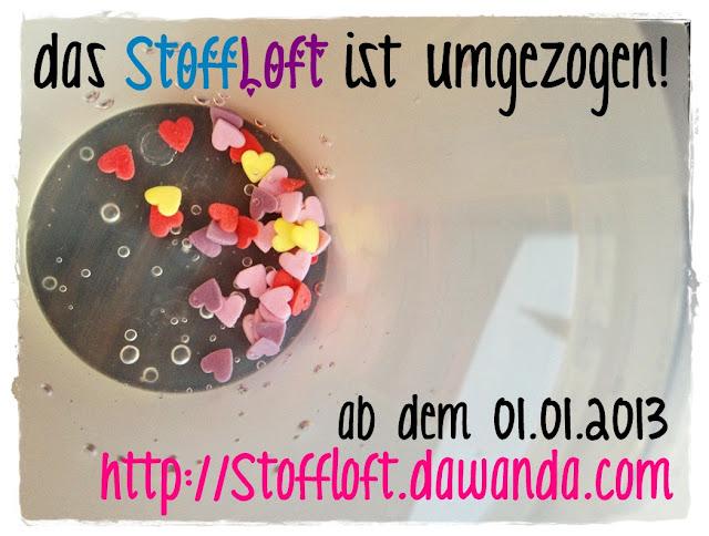 Das StoffLoft ist umgezogen...