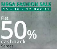 PayTM offer: Buy Women Clothing upto 50% Cashback