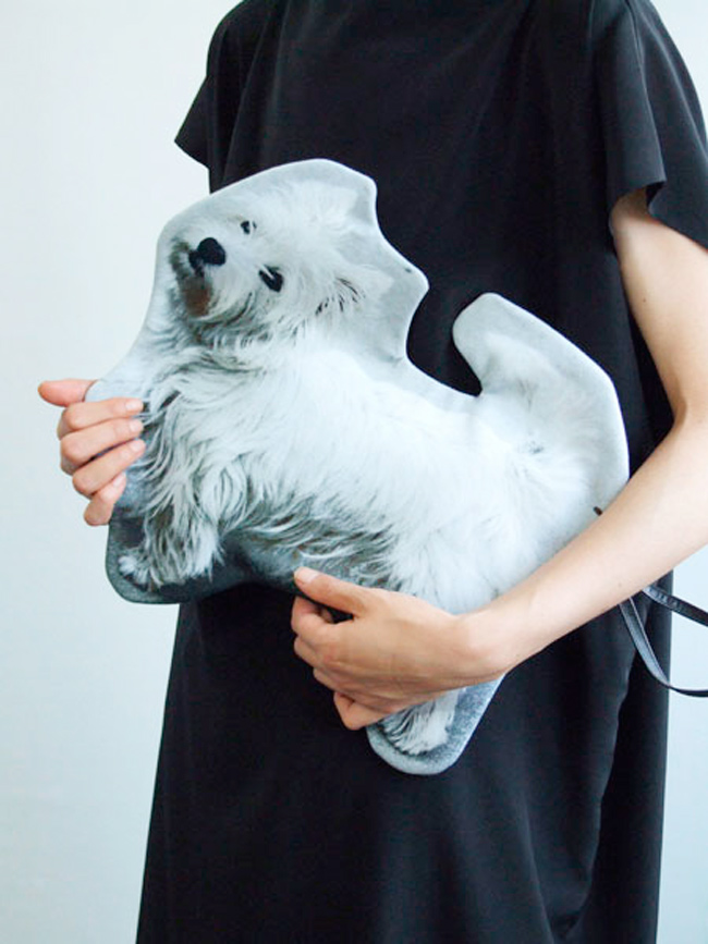 azumi and david, ss15, dog bag