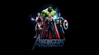 Iron Man Hulk Thor and Captain America Avengers Desktop Wallpaper