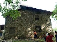 La façana de migdia de la Fàbrica de Targarona