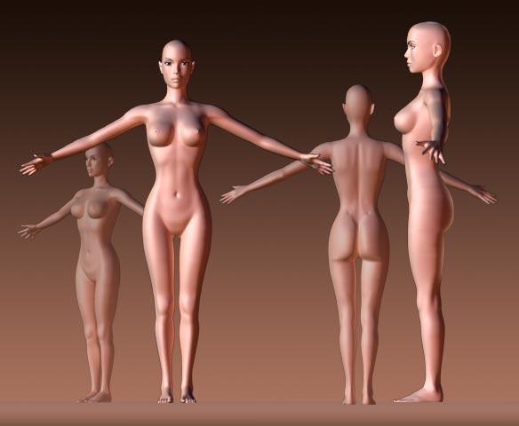 3d Women3