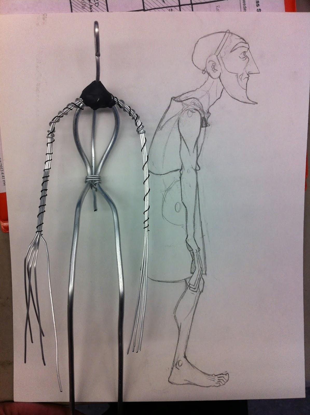 Making Dreams Come True...: Kyros sculpture progress